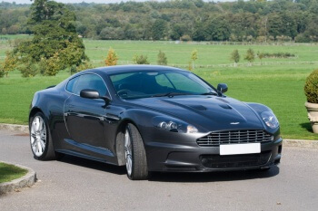 Aston Martin DBS Dark Grey